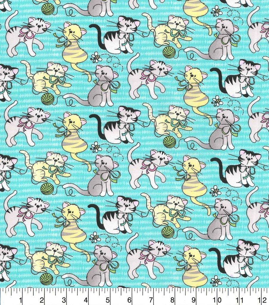 Chubby Kitties 16710 Turquoise