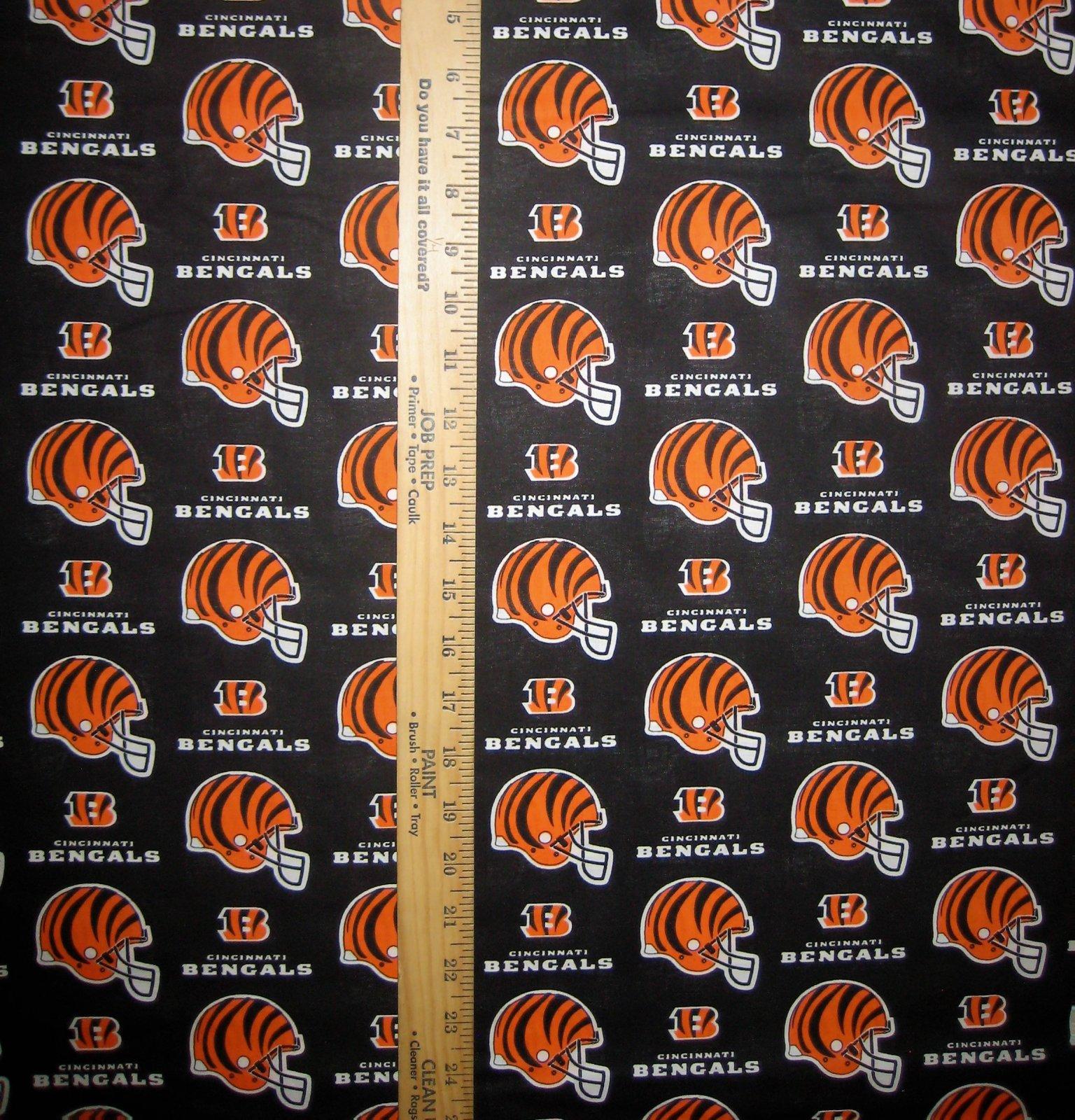 NFL Logo Cincinnati Bengals 6229 Black