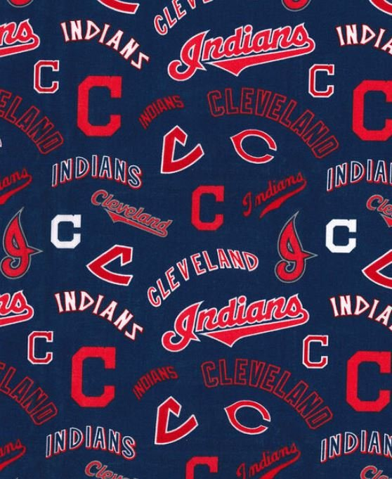MLB Logo Cleveland Indians 60024 Cooperstown Navy 45