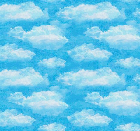 Clouds 26877-Q Blue