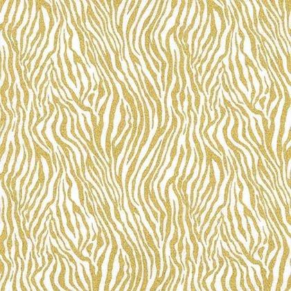 Mini Zebra Stripe CM8274 Gold