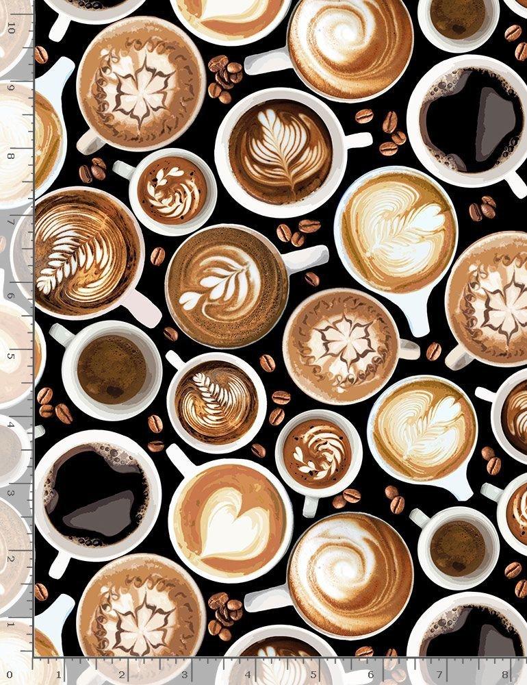 Coffee Cups C7257 Black