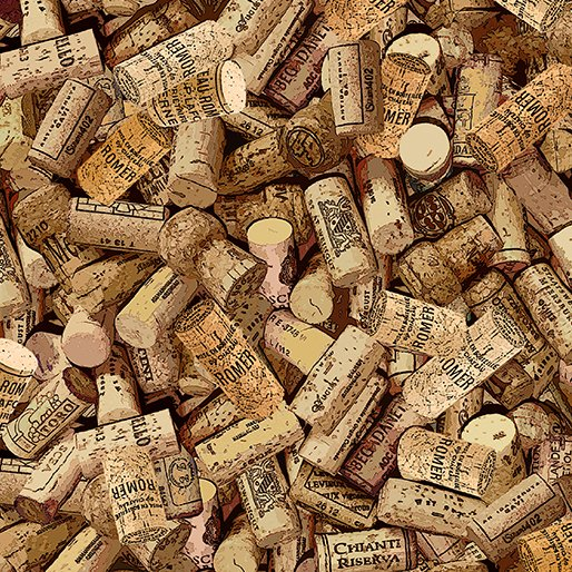 Cheers to You Wine 9788-07 Cork Pile