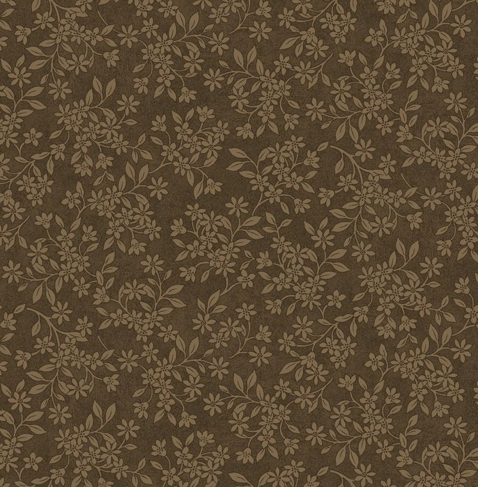 The Cotton King 3012-38 Tobacco Floral