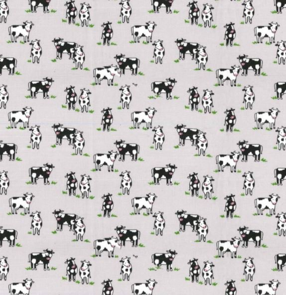 Country Cows 4454 Gray