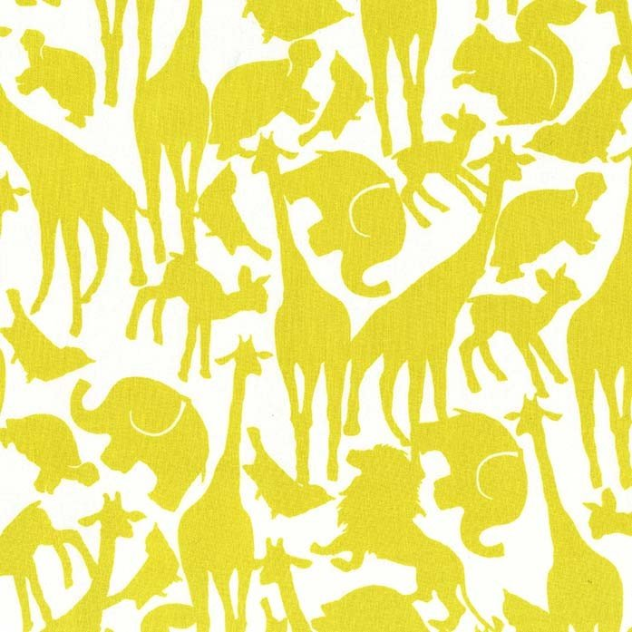 Animal Silhouette Citron CR6152