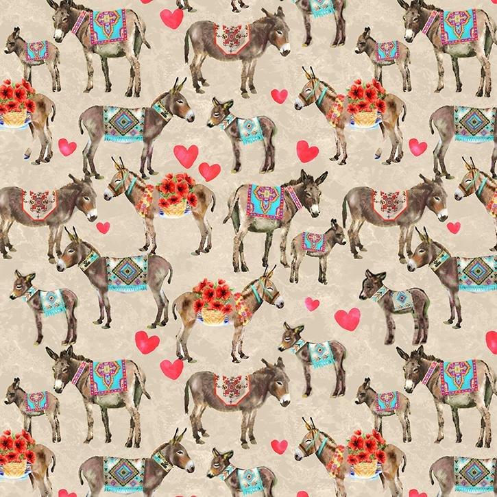 Croatia 120-99622 Donkey