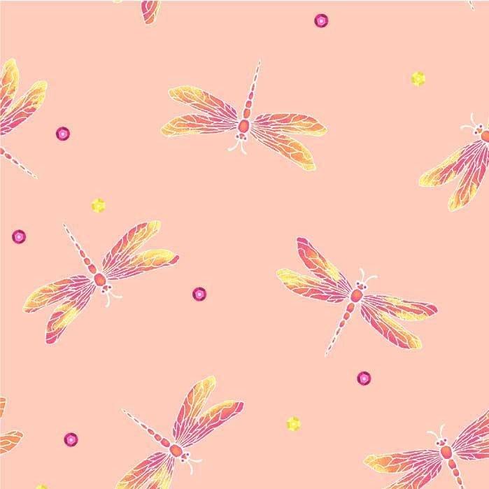 Boho Boutique CX8596 Dragonfly Chic Blush