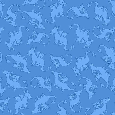 Dragons Rule CX8851 Warrior Blue