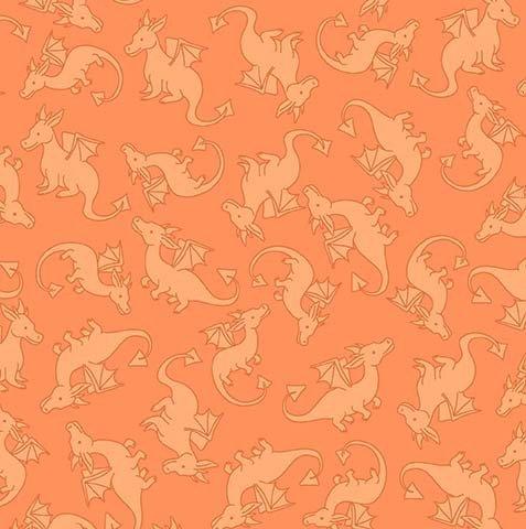 Dragons Rule CX8851 Warrior Orange