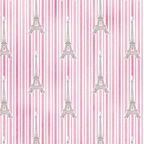 Paris Eiffel Stripe CX9629 Pink