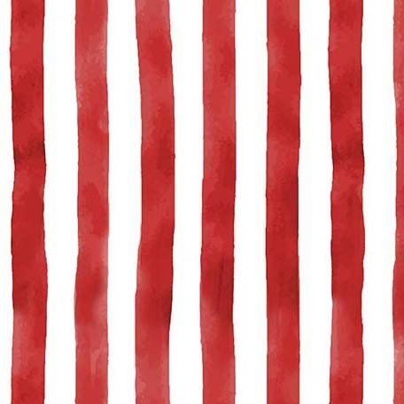 Land That I Love CX9705 Broad Stripes Red