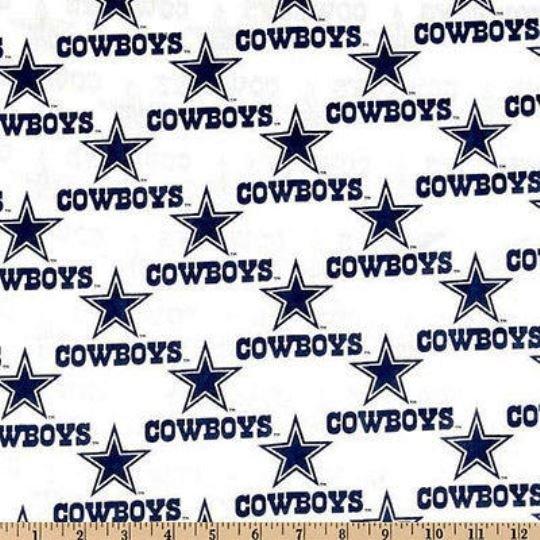 NFL Logo Dallas Cowboys 1040 White