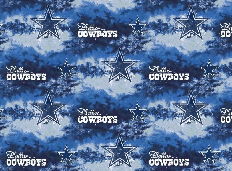 NFL Dallas Cowboys 6352 Tie Dye