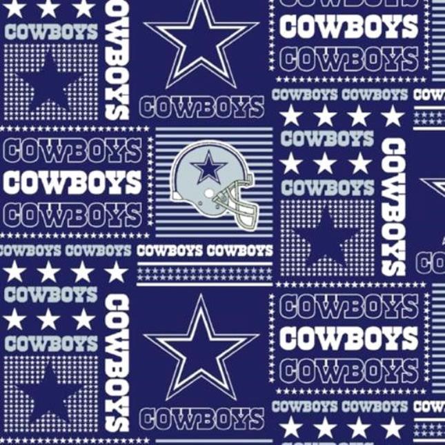 NFL Logo Dallas Cowboys 6424 Block
