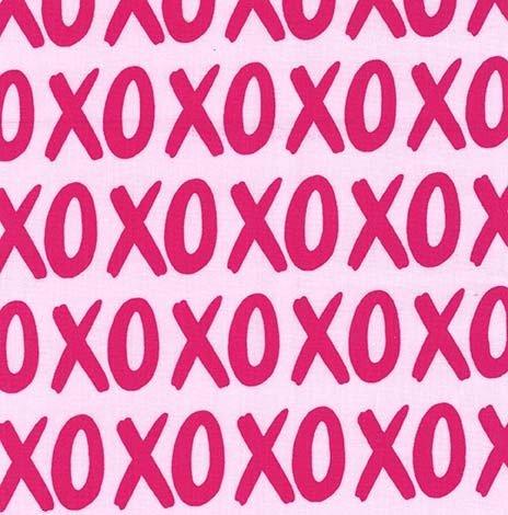 Glam Girls DC8248 XOXO Fuchsia & Pink