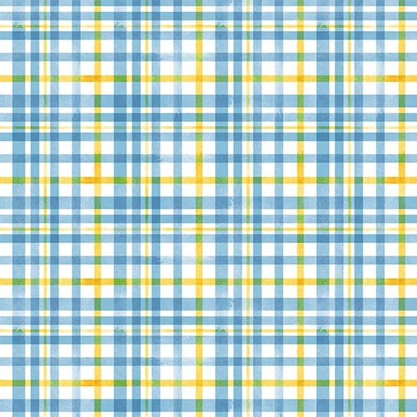 Beehive Plaid DC9154 Blue