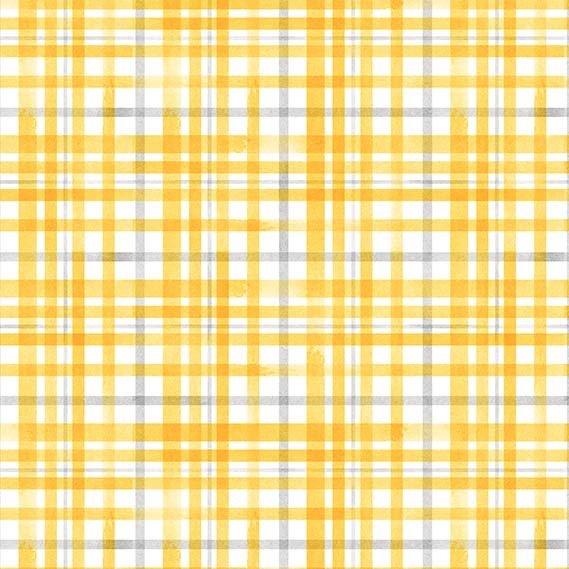 Beehive Plaid DC9154 Yellow