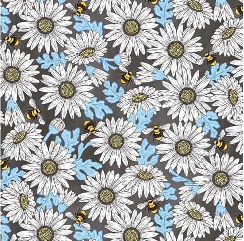 Feed The Bees DC9160 Charcoal