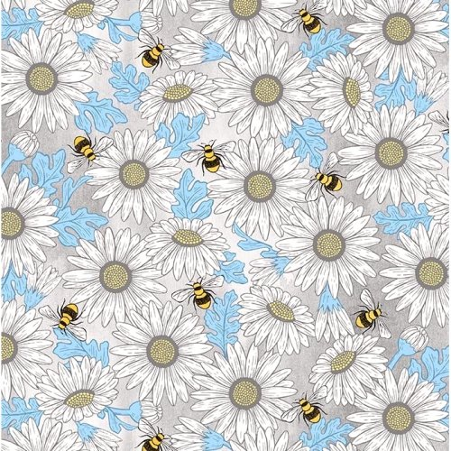 Feed The Bees DC9160 Gray