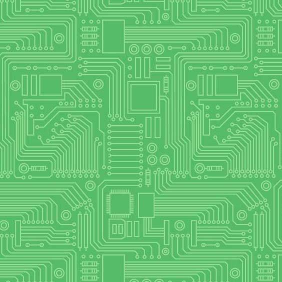 Stem Squad DC9722 Circuit Board Green