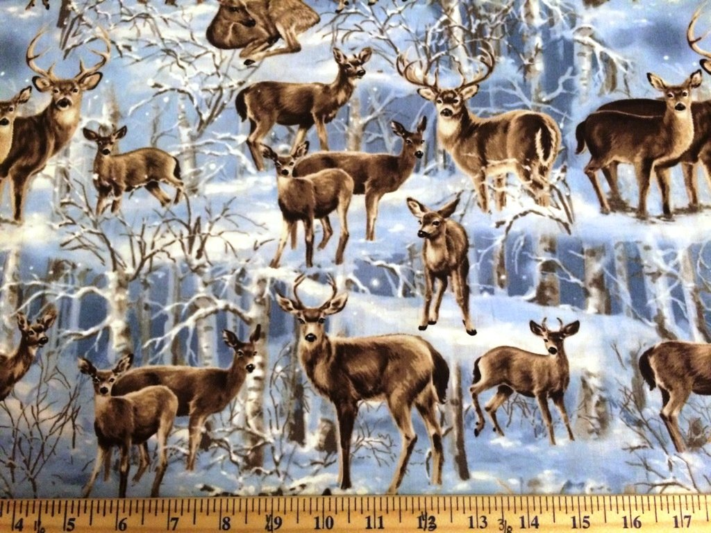 END OF BOLT Deer C3597 Winter - .97 YD