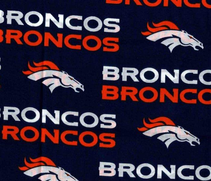 NFL Logo Denver Broncos 2507 Navy