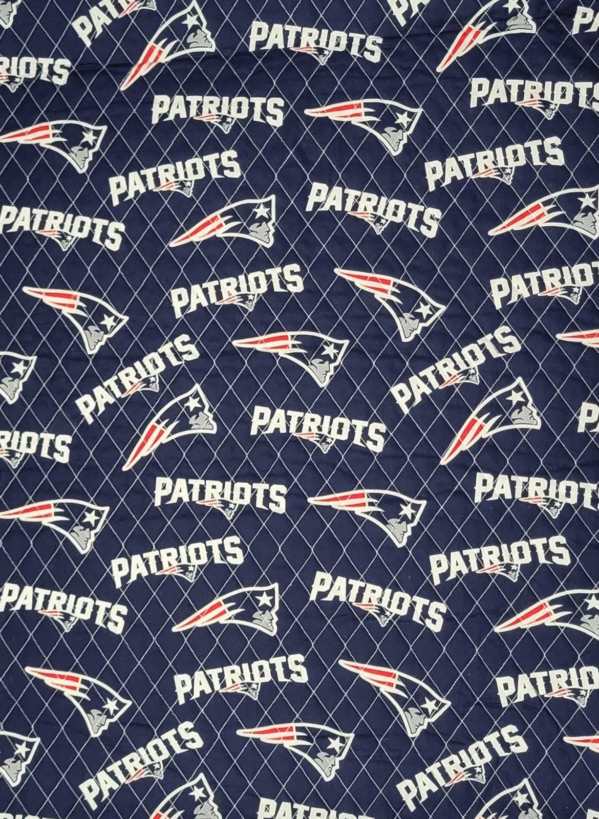 DFQ NFL Logo New England Patriots 70163 Blue
