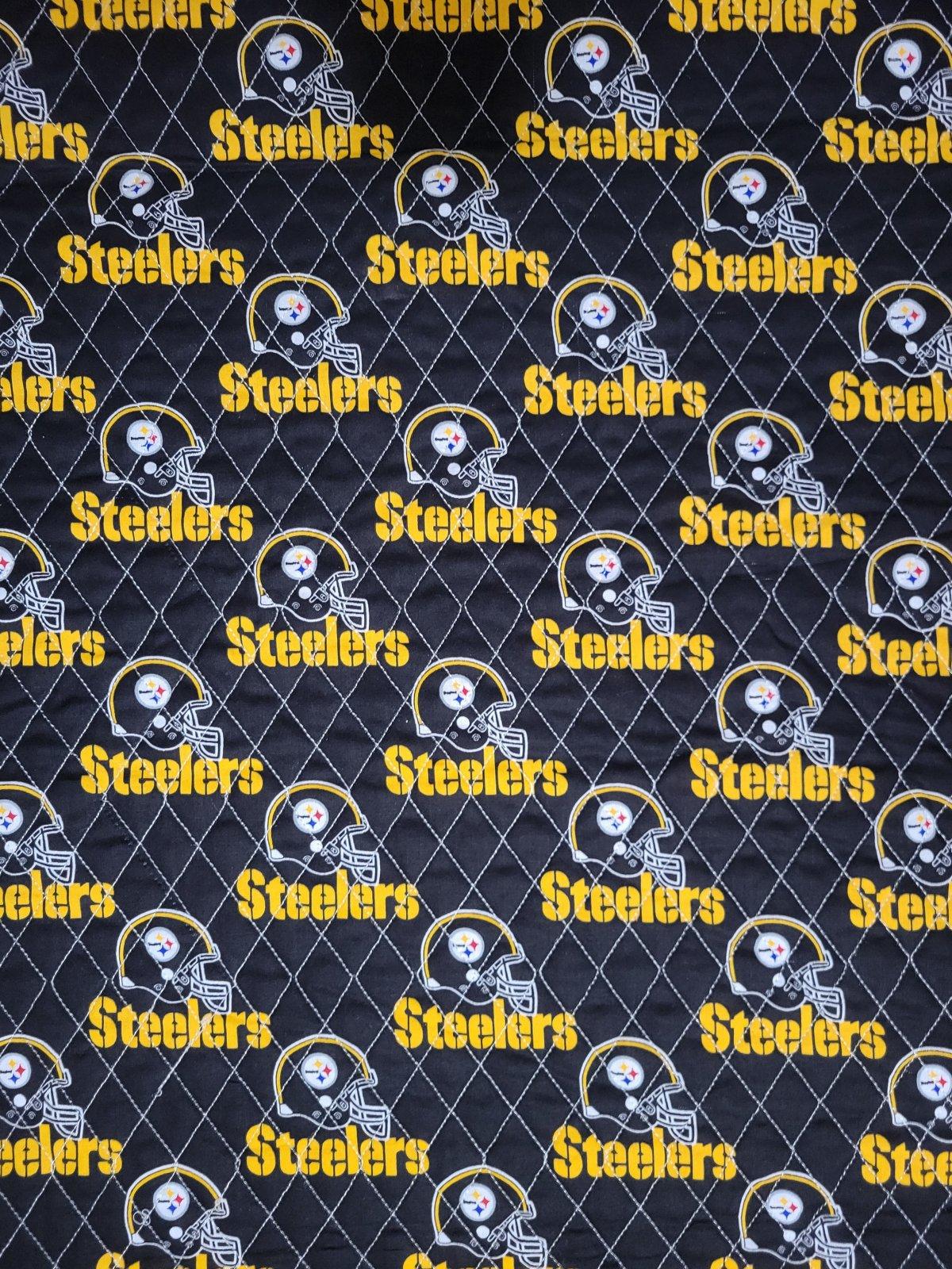 DFQ NFL Logo Pittsburgh Steelers A522 Black