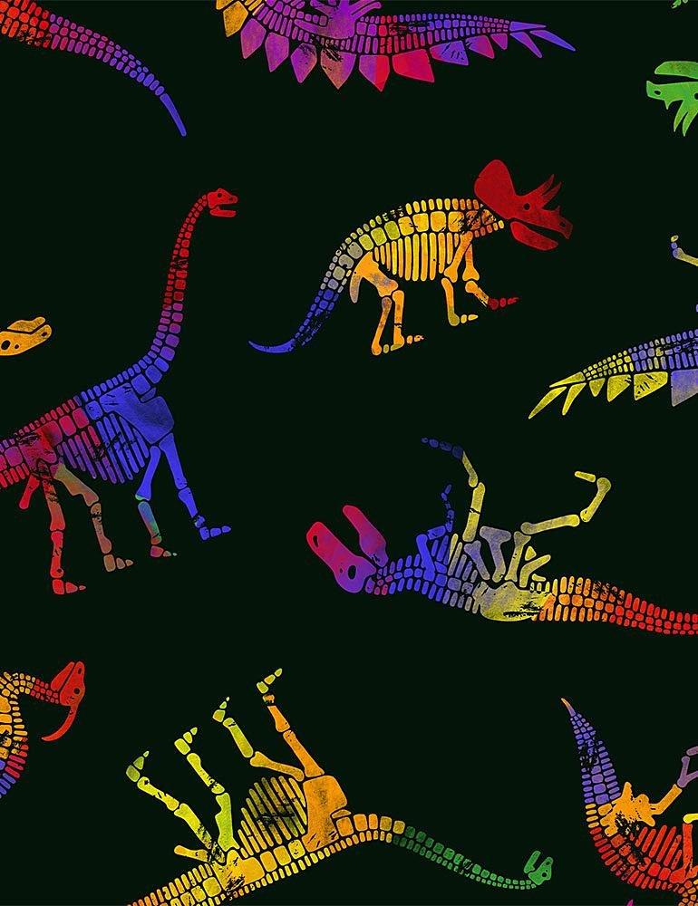 Multi Dinosaurs C8329 Black