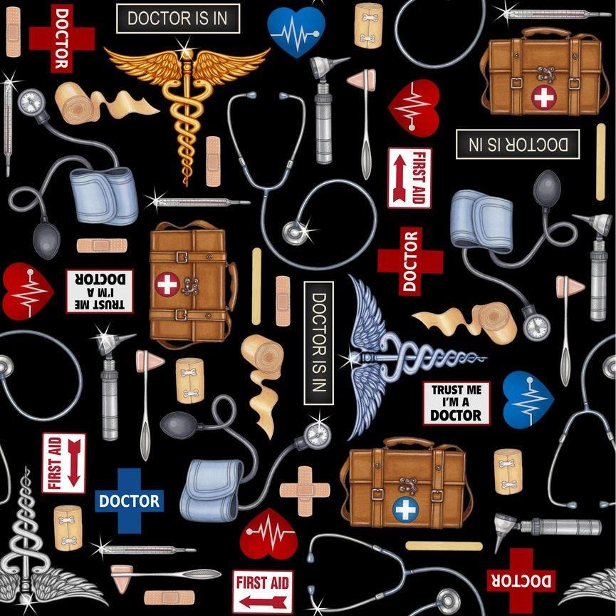 Medical Doctor Tools 24928-J Black