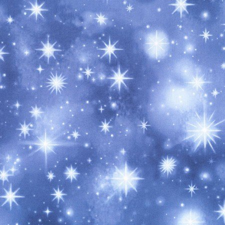 Nativity C4967 Twinkle Stars - LIGHT BLUE