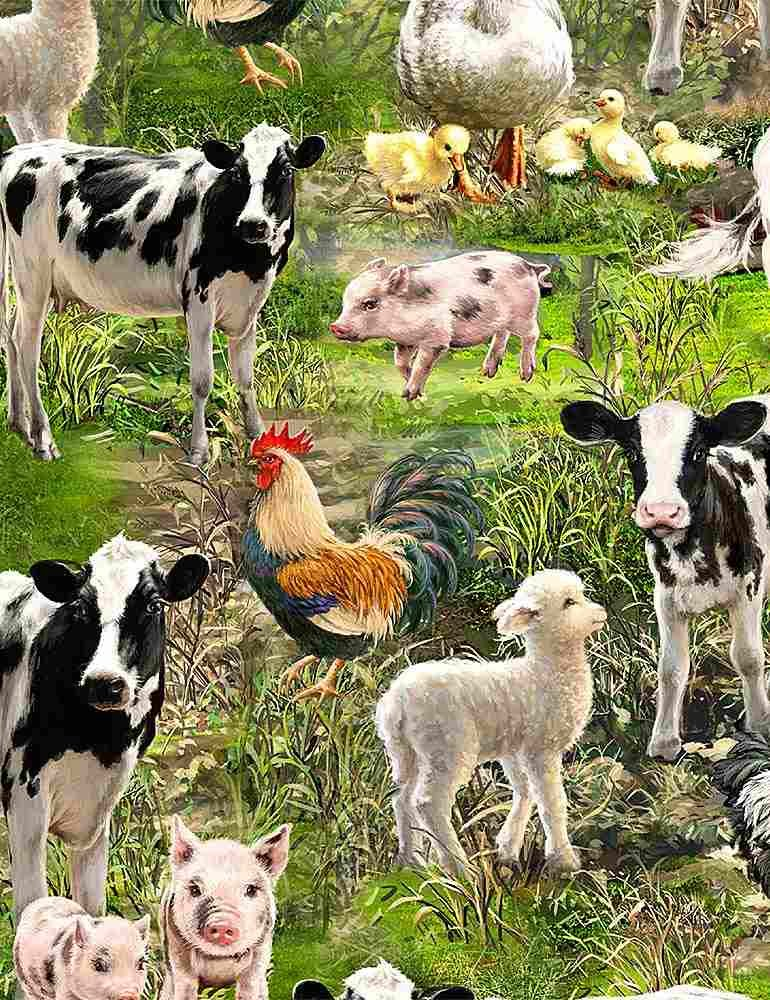 Farm Life C8336 Farm Animals