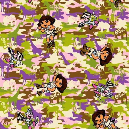 END OF BOLT Dora Wild Camo 42239  - .68 YD
