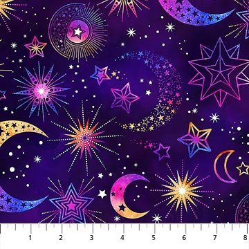 Cosmic Universe 22718-88 Purple/Orange Moons