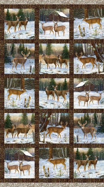 Pine Valley Deer DP-22855-10 Blocks