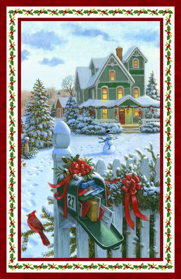 Christmas Delivery DP22873 Panel