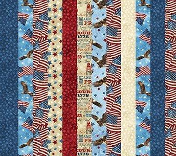 Stars & Stripes 39437-30 Strips