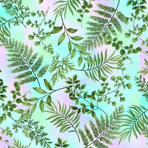 Dragonfly Garden 2468-17 Pastel Fern
