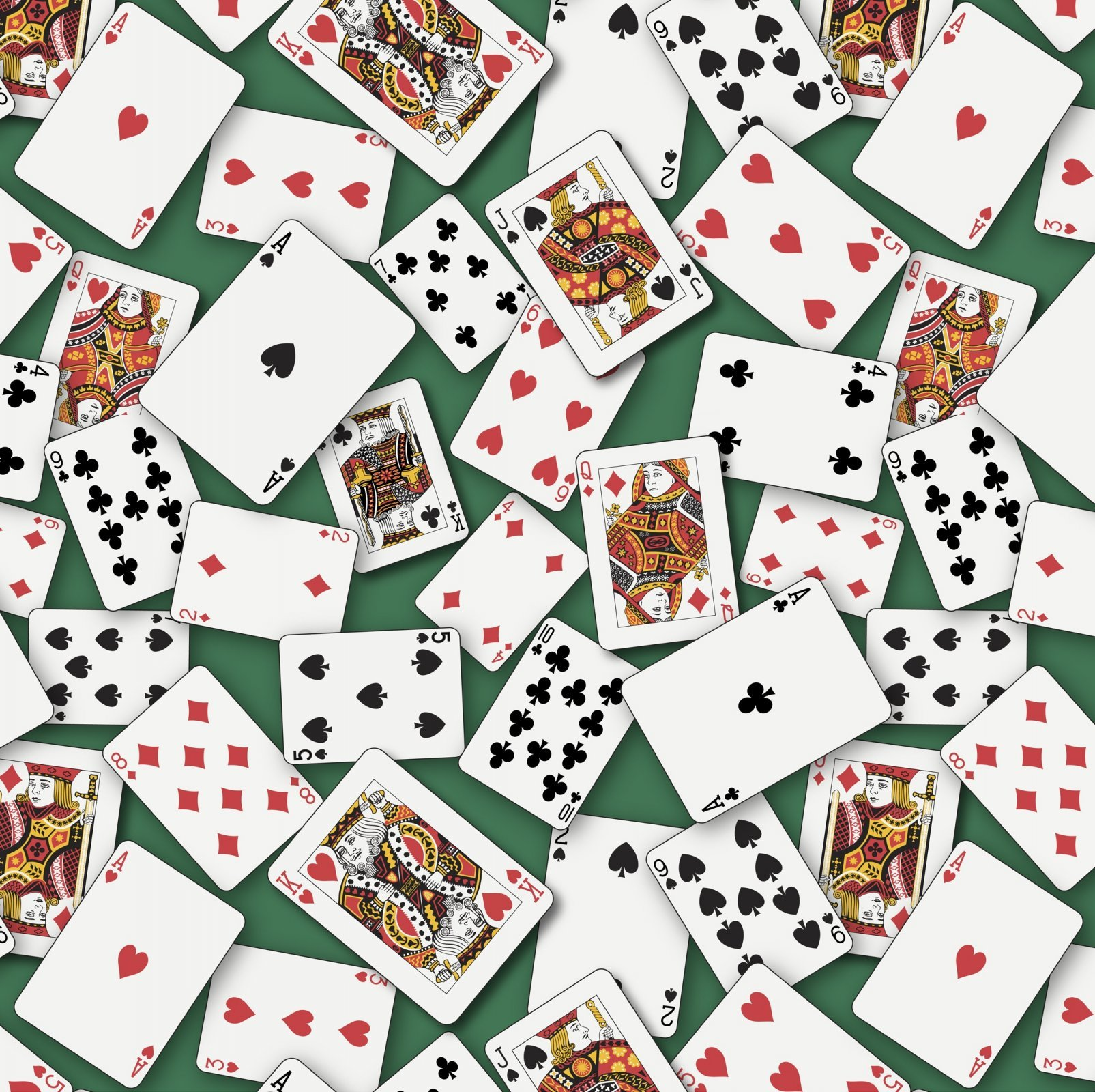 Casino 2528 Playing Cards Green