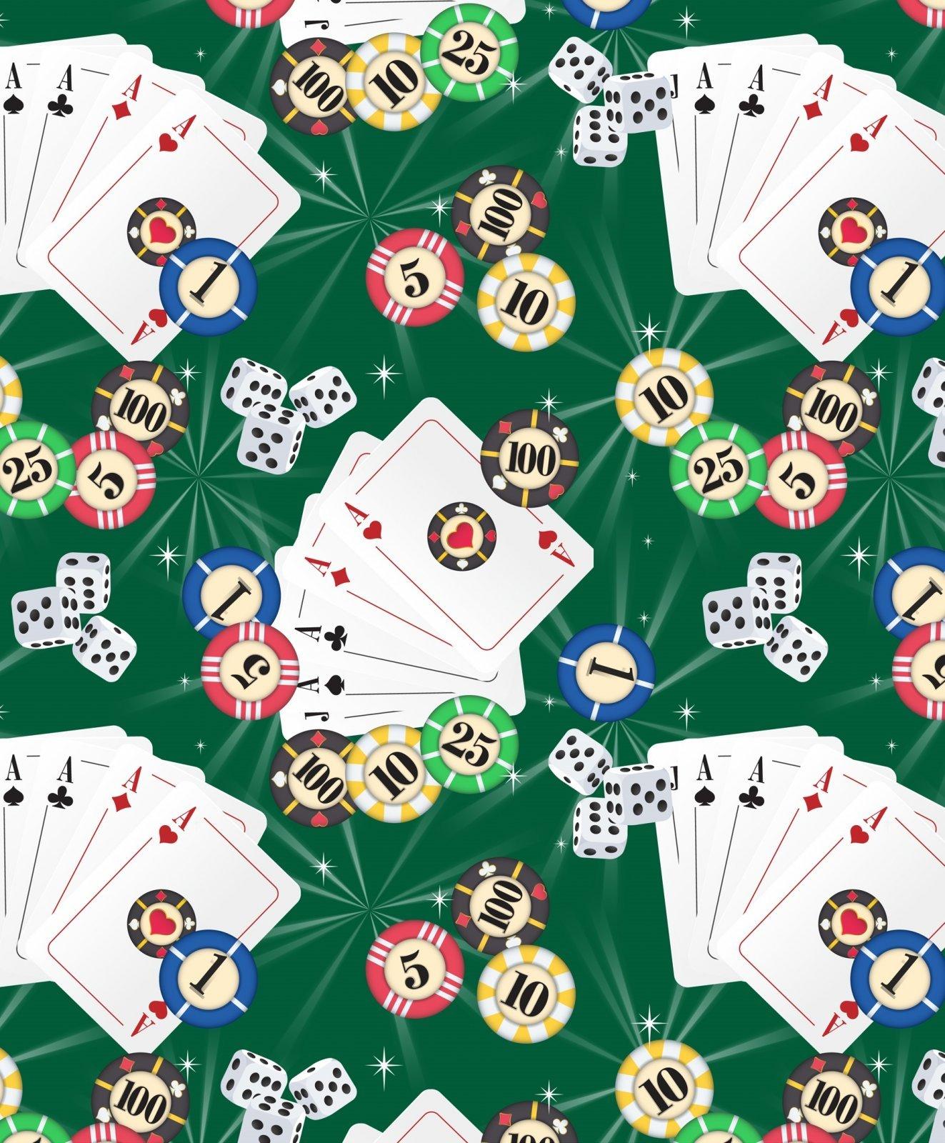 Casino 2529 Poker Gear Green