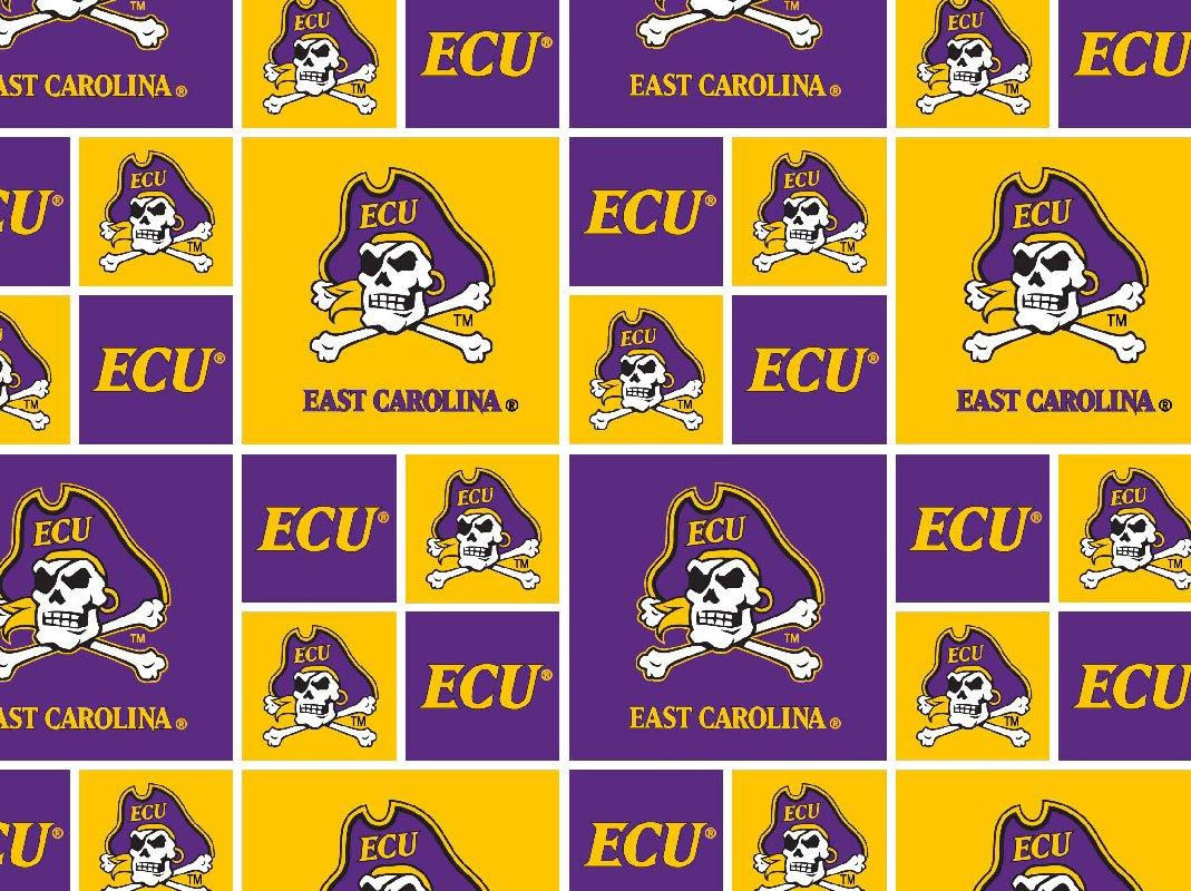 NCAA East Carolina Pirates 020 Blocks