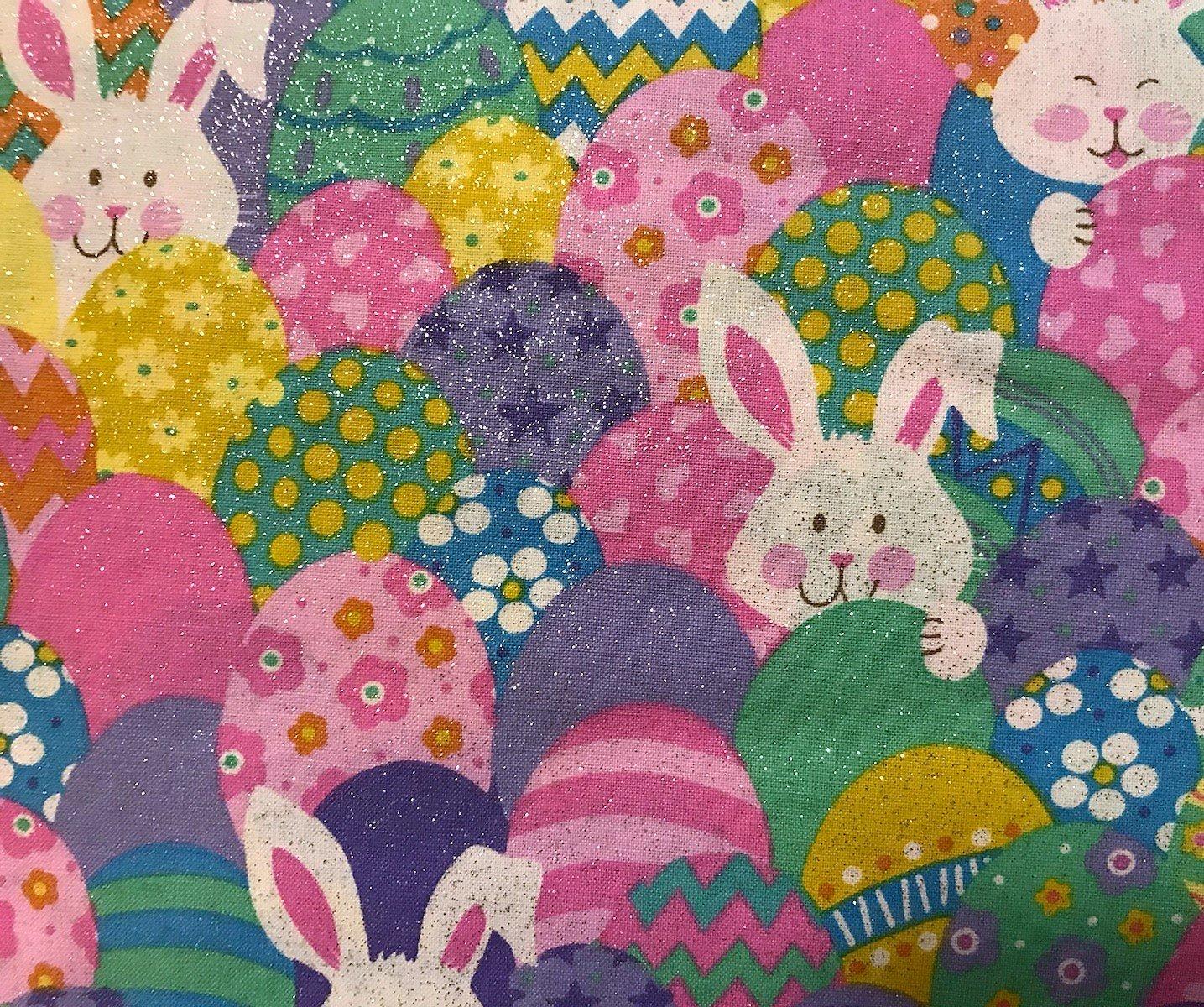 Easter Bunny & Eggs 12942 Glitter