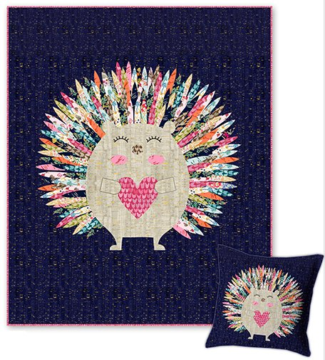 Elsie Avenue 50264 Hedgehog Quilt Kit