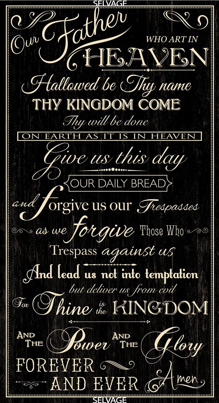Lord�s Prayer C6696 Panel