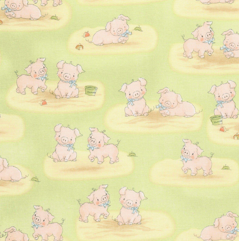 Farm Babies C5830 Pigs Green