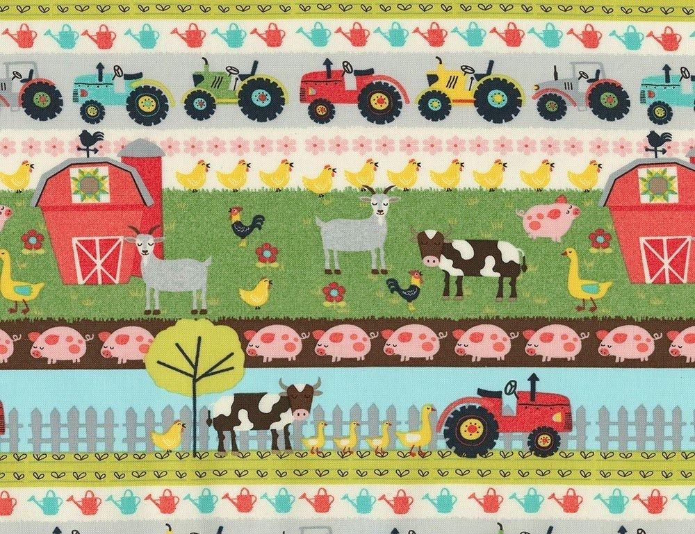 Farm Animals C7118 Border