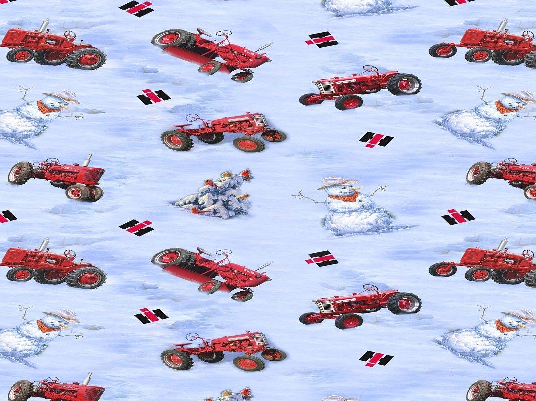 Farmall 10183 Snowmen & Tractor