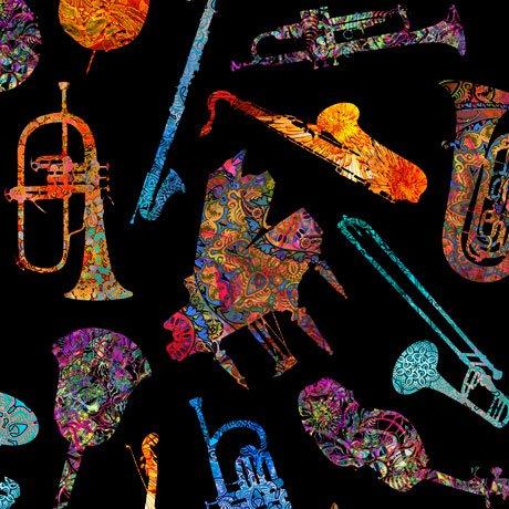 Fine Tuning Music 26846-J Batik Instruments Black
