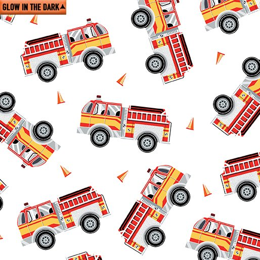 Fire Engines 9737 White